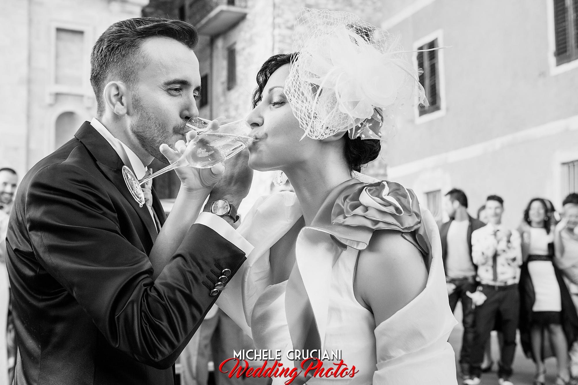 Belinda e Matteo, Matrimonio a Caldana.