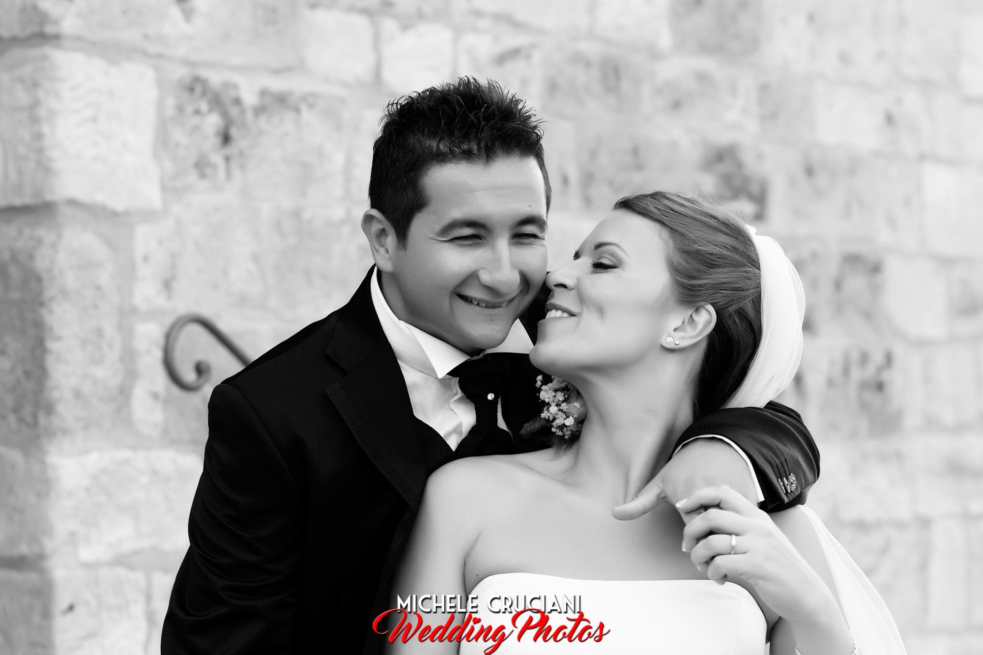 Alessandra e Giacomo, matrimonio a Montepescali.