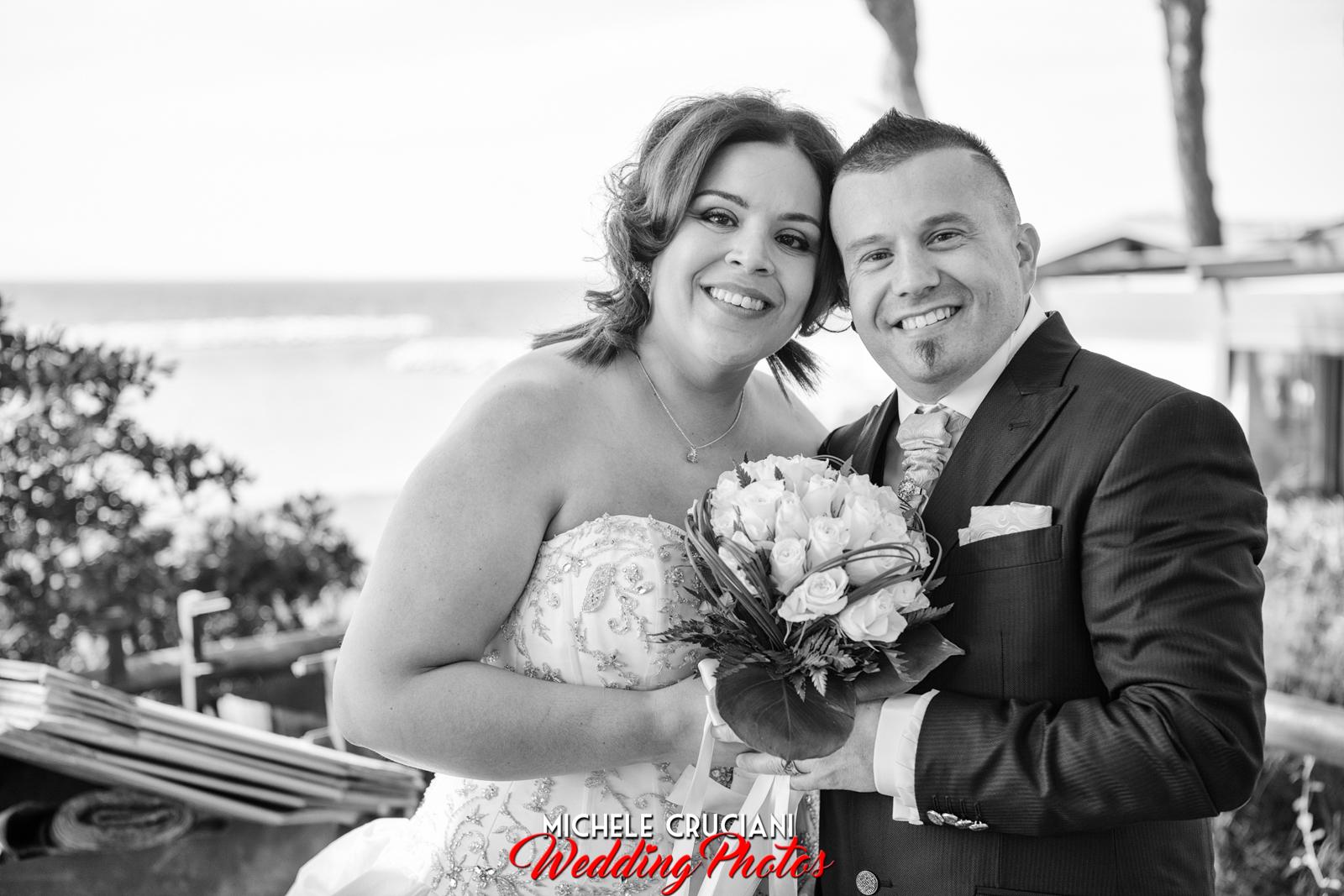 Ambra e Alessio.... matrimonio in spiaggia a Follonica!