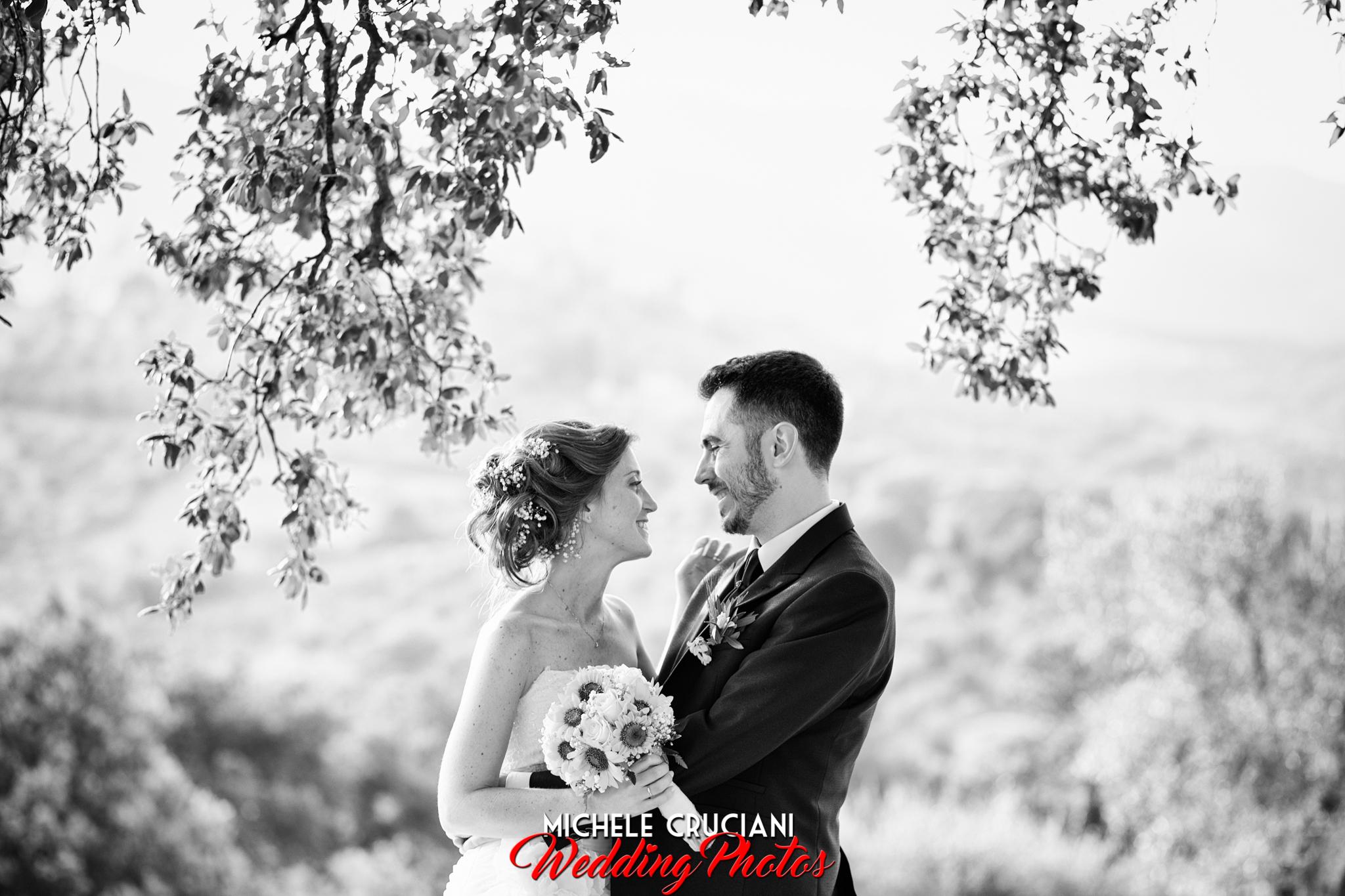 Laura e Marco, matrimonio in Toscana.